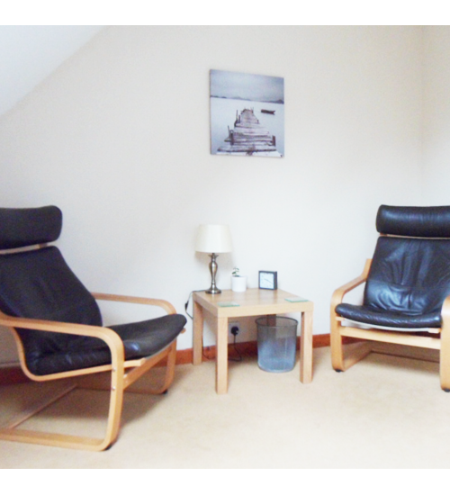 Our Daventry counselling and therapy room