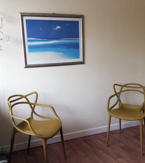 Our Southam counselling and therapy room